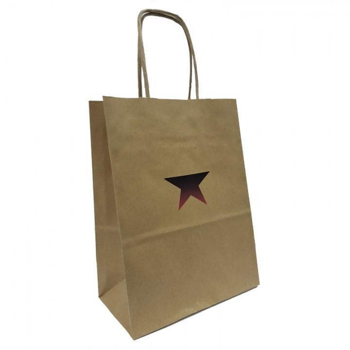 """Пакет бумажный подарочный """"Бастион"""" (15х20х8 см) (7035)"""