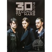 """Постер """"30 Seconds To Mars"""""""