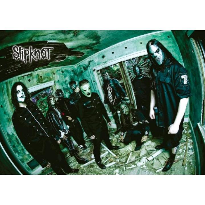 """Постер """"Slipknot"""" (1384)"""