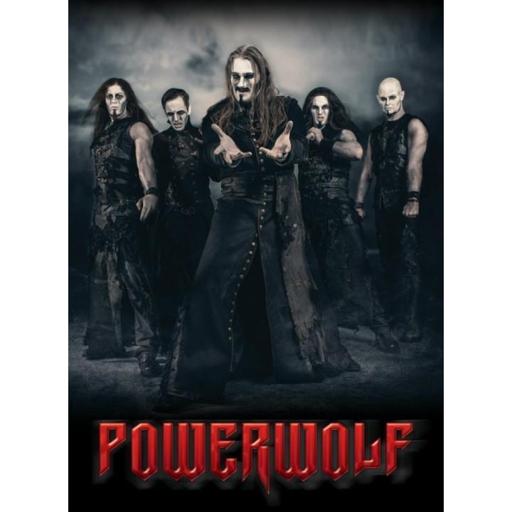 """Постер """"Powerwolf"""" (1382)"""