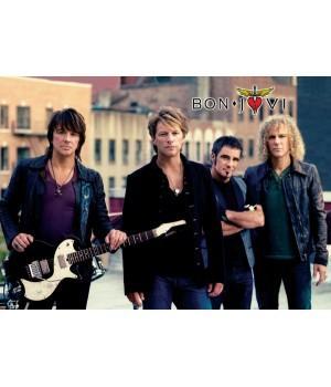 """Постер """"Bon Jovi"""""""