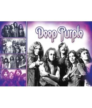 "Постер ""Deep Purple"""