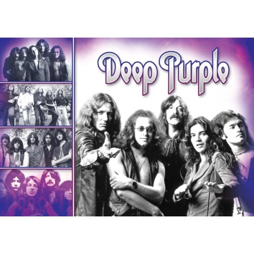 "Постер ""Deep Purple"""