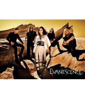 """Постер """"Evanescence"""""""