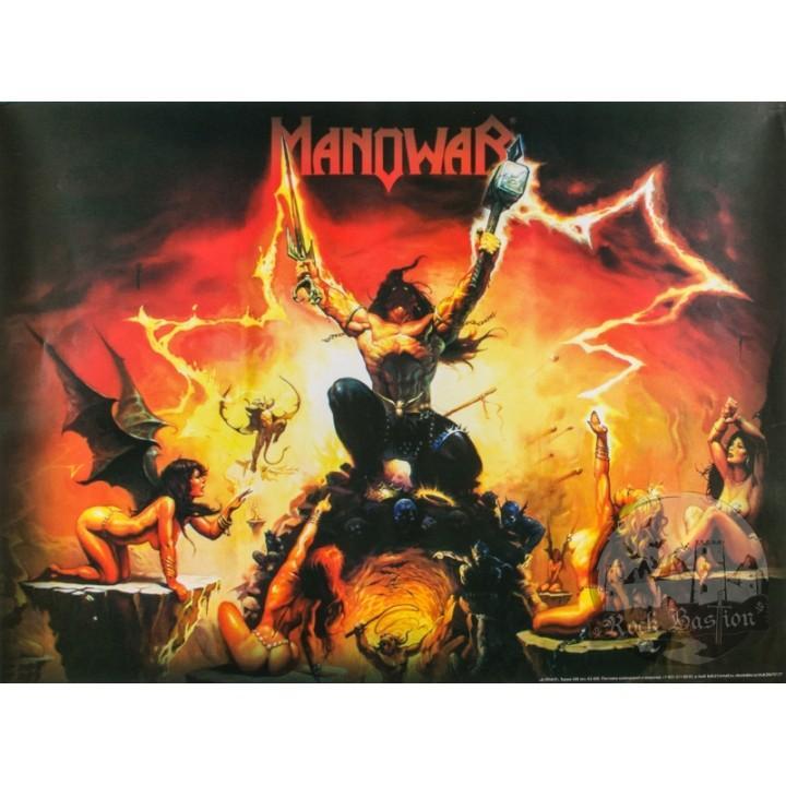 "Постер ""Manowar"""