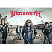 "Постер ""Megadeth"""