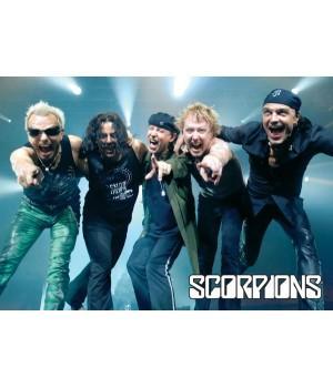 """Постер """"Scorpions"""""""