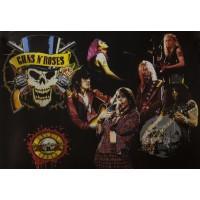 """Постер """"Guns N' Roses"""""""