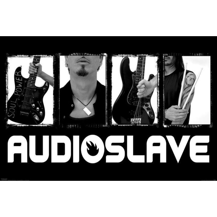 """Постер """"Audioslave"""""""
