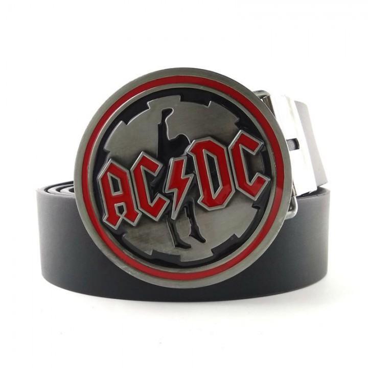 """Пряжка """"AC/DC"""" (8252)"""