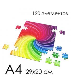 Пазл с вашим рисунком А4 (120 элементов)