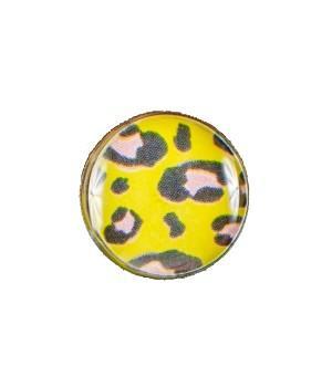 Серьга-гвоздик леопардовая