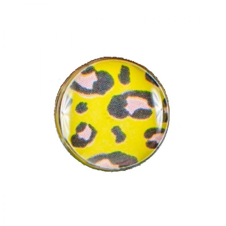 Серьга-гвоздик леопардовая (1700)