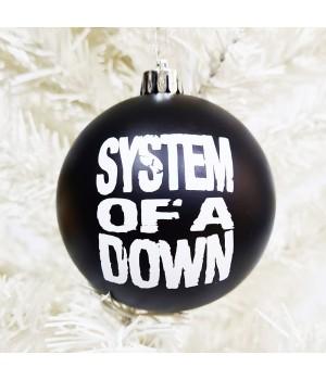 """Шар пластиковый """"System Of A Down"""" (8 см)"""