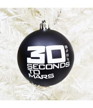 "Шар пластиковый ""30 Seconds To Mars"" (8 см)"