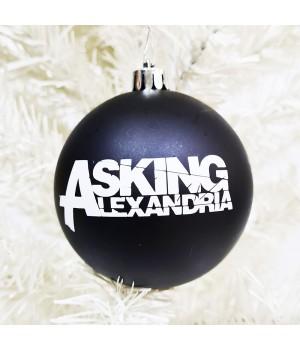 """Шар пластиковый """"Asking Alexandria"""" (8 см)"""