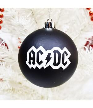 """Шар пластиковый """"AC/DC"""" (8 см)"""