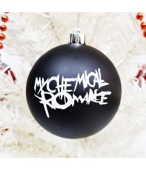 "Шар пластиковый ""My Chemical Romance"" (8 см)"
