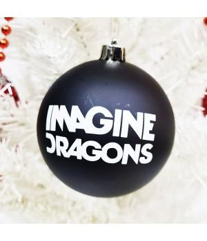 """Шар пластиковый """"Imagine Dragons"""" (8 см)"""