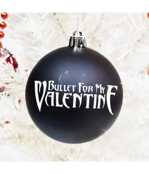 """Шар пластиковый """"Bullet For My Valentine"""" (8 см)"""