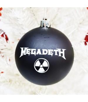 """Шар пластиковый """"Megadeth"""" (8 см)"""