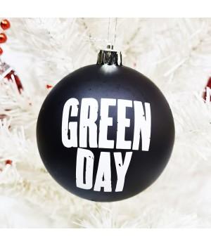"""Шар пластиковый """"Green Day"""" (8 см)"""