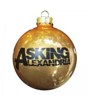 """Шар стеклянный """"Asking Alexandria"""" (6 см)"""