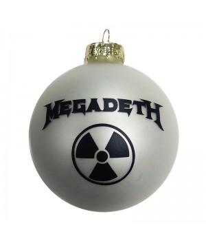 """Шар стеклянный """"Megadeth"""" (6 см)"""