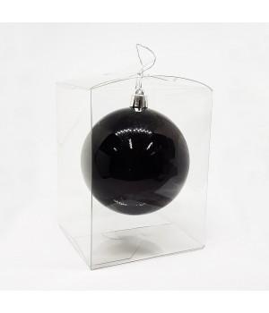 Коробка пластиковая для шарика (8,2х8,2х10 см)