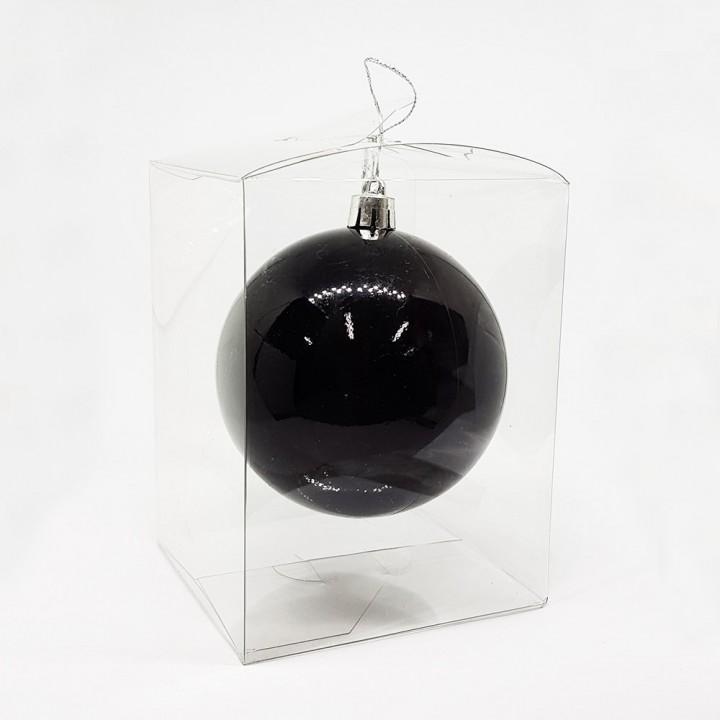 Коробка пластиковая для шарика (8,2х8,2х10 см) (10931)