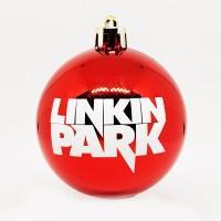 """Шар пластиковый """"Linkin Park"""" (6 см)"""