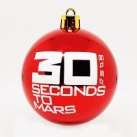 "Шар пластиковый ""30 Seconds To Mars"" (6 см)"