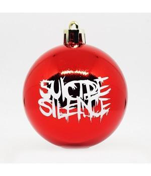 """Шар пластиковый """"Suicide Silence"""" (6 см)"""