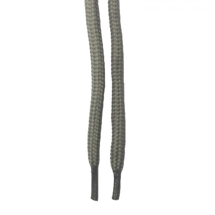 "Шнурки для спецобуви (берцы) ""Серые круглые 5 мм (1,5м)"" (1427)"
