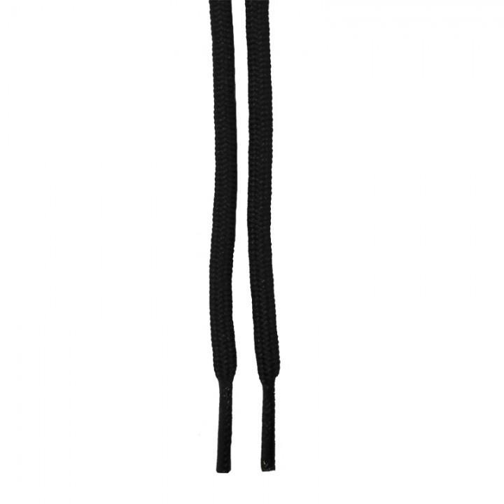 """Шнурки для ботинок """"Черные круглые 4 мм"""" (1431)"""