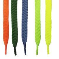 """Шнурки для кроссовок и кед """"Цветные плоские 8 мм (0,8 м)"""""""