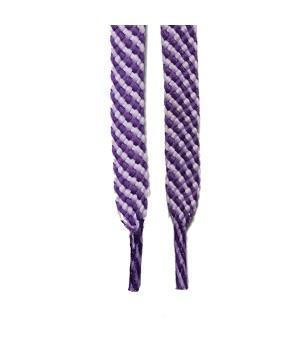 """Шнурки для кроссовок и кед """"Светло-фиолетовые 8 мм"""" (1 м)"""