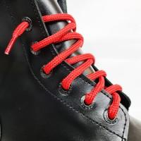 """Шнурки для спецобуви (берцы) """"Красные круглые 3 м"""""""