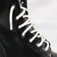 "Шнурки для спецобуви (берцы) ""Белые круглые 3 м"""