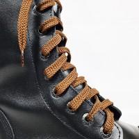 """Шнурки для кроссовок и кед """"Светло-коричневые плоские 8 мм - 1.5 м"""""""
