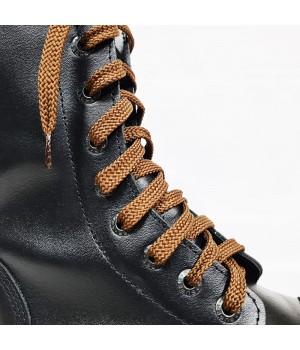"""Шнурки для кроссовок и кед """"Светло-коричневые плоские 8 мм - 0.8-1.5 м"""""""