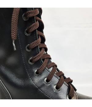 """Шнурки для кроссовок и кед """"Коричневые плоские 8 мм - 0.8-1.5 м"""""""
