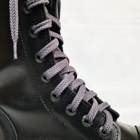 """Шнурки для кроссовок и кед """"Серые плоские 8 мм - 1.5 м"""""""