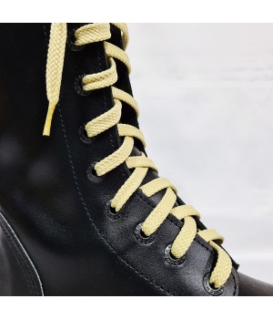 """Шнурки для кроссовок и кед """"Светло-бежевые плоские 8 мм - 0.8-1.5 м"""""""