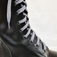 """Шнурки для кроссовок и кед """"Светло-серые плоские 8 мм - 1.5 м"""""""