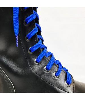 """Шнурки для кроссовок и кед """"Васильковые плоские 8 мм - 1.5 м"""""""
