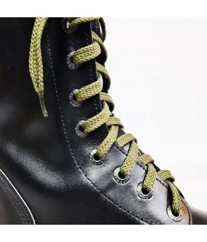 """Шнурки для кроссовок и кед """"Оливковые плоские 8 мм - 0.8-1.5 м"""""""