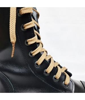 """Шнурки для кроссовок и кед """"Бежевые плоские 8 мм - 1.5 м"""""""