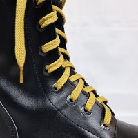 """Шнурки для кроссовок и кед """"Песочные плоские 8 мм - 1.5 м"""""""
