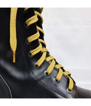 """Шнурки для кроссовок и кед """"Песочные плоские 8 мм - 0.8-1.5 м"""""""